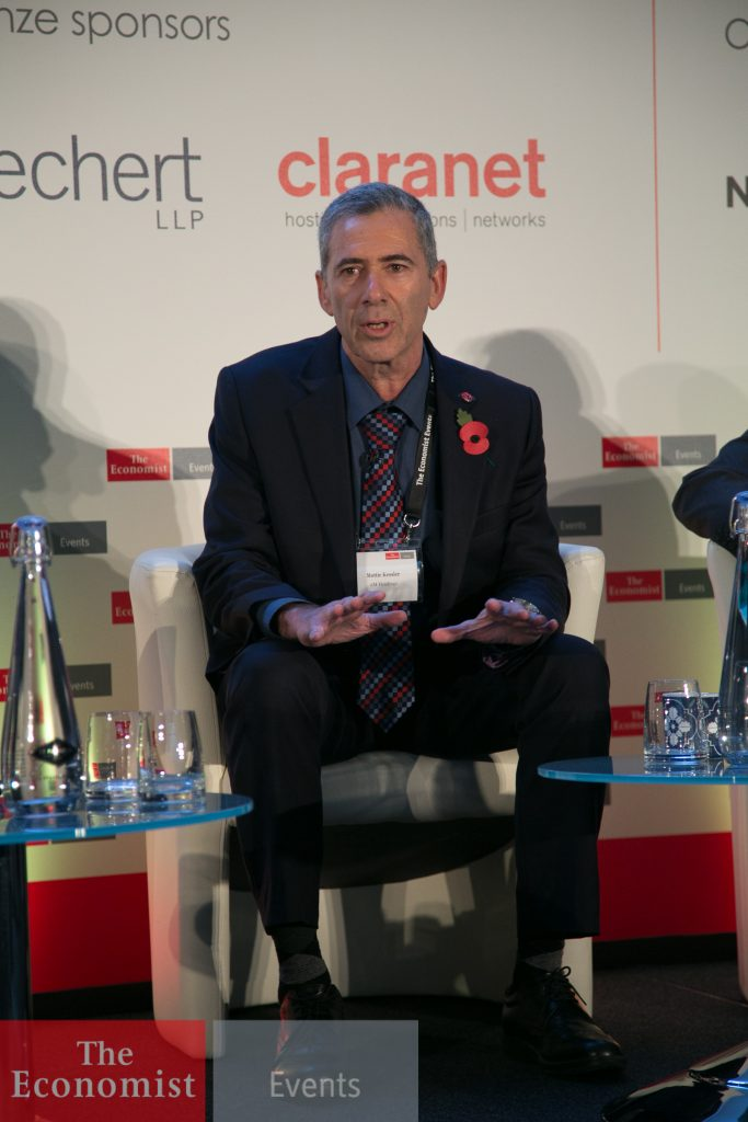 Mottie Kessler, Chairman and CEO of 2M Holdings at The Economist Panel